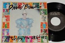 "David BOWIE-Ashes to Ashes/Move On - 7"" 45 RCA Records"