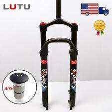 LUTU Suspension Air Fork 26*4.0 Snow/Beach/MTB Bike 100mm Travel 135mm Fat Forks