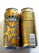2016 USA FULL Can 16 oz ROCKSTAR Energy Drink GINGER BREW