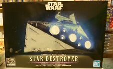 Bandai Star Destroyer Lighting Model LED 1/5000 Scale Kit Star Wars LTD Prod