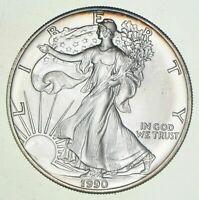 Better Date 1990 American Silver Eagle 1 Troy Oz .999 Fine Silver Brilliant Unc