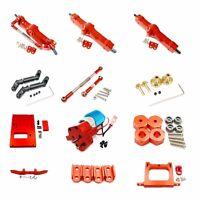 Aluminum Alloy metal Upgrade DIY parts For WPL B14 B24 B16 B36 1:16 Rc Car Red