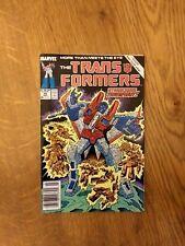 Transformers #50 (Marvel Comics, 1989) Death of Starscream - I bundle orders