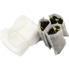 @ 100PCS/Bag Biodegradable Seed Nursery Bags Flower Pots Vegetable Planting Bag