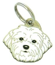 Personalised, Stainless Steel, Pet Id Tag, Coton de Tulear