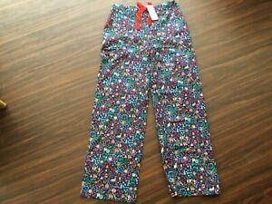 Boden Multicoloured Pyjama Bottoms Size UK 10R To684 BLU
