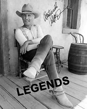 LONESOME DOVE  Robert Duval Autographed Photo Copy B & W  8x10 Reprint DOVE-X06