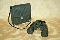 Vintage Forte Rubber Coated Black Soviet Russian 7x50 Tactical Binoculars & Case
