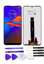 "Pantalla LCD Pantalla Táctil para Motorola Moto E6 Plus 6.1"" - Negro"
