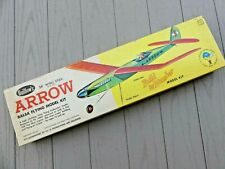 "Guillow's Arrow Rubber Powered or Pee Wee Engine Airplane Kit   28"" Wing Span"