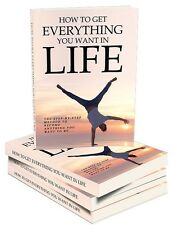 How You Can Have Everything You Want In Your Life- eBook, Videos on 1 CD