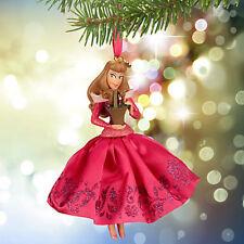 NEW Disney Store 2015 Sleeping Beauty's Aurora Sketchbook Christmas Ornament NIB