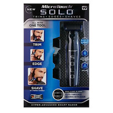 MicroTouch Micro Touch SOLO Rechargeable Shaver and Trimmer AS SEEN ON TV - NEW