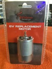 """Wildgame 6V Universal Replacement Motor #6VM 1/8"""" Shaft for Power Control Units"""