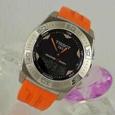 Unisex Armbanduhren aus Edelstahl mit Kompass