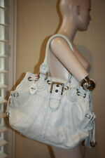 Isabella Fiore whip flashback elaina tote white new $775 handbag purse bag