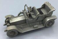 Danbury Mint Pewter Model Scale 1/43 ROLLS ROYCE SILVER GHOST 1909  MODEL V/G