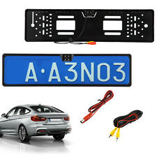 Car HD Reversing Camera Kit License Number Plate Cam IR Night Vision Waterproof