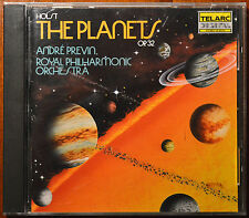 Holst: The Planets (CD, Dec-1986, Telarc Distribution) - Andre Previn - NM to M
