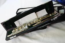 Jupiter Carnegie XL DiMedici 1011RBS Solid Silver Flute Inline G Gold Lip Plate