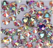 200 St. Strasssteine Glas MINI ca 1,35 mm Nailart  Kristalle ss3  MULTICOLOR 200