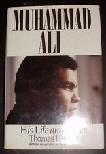 MUHAMMAD ALI  WORLD HEAVEYWEIGHT CHAMPION SIGNED BOOK AFTAL