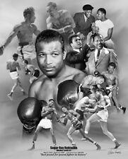 SUGAR RAY ROBINSON Boxing Legend Commemorative Wall Art POSTER Print