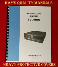 High Quality ~ Yaesu FL-7000 Instruction Manual (4 Button) **ON 32 LB Paper**