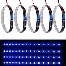 5x Wasserdicht 15 LED 3528 SMD Strip Lichtleiste 30cm DC 12V KFZ Auto Deko  Pro