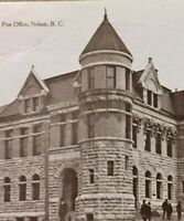 Postcard, The Post Office Nelson 1911, B.C. Canada, Vintage P24