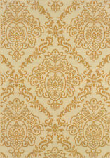 "8x11 Sphinx Patio Vines Transitional Ivory 8424J Area Rug - Approx 7'10""x10'1 0"""