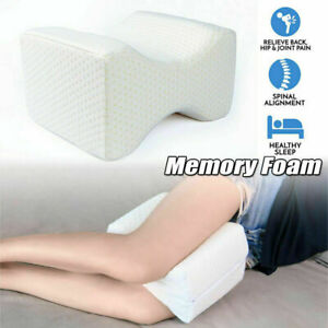 Leg Pillow Bed Orthopaedic Memory Foam Reduce Pain Back Hip Knee Cushion Support
