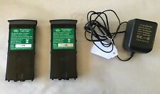 2 White's Prizm 6T or Gt Metal Detector Rechargeable Batteries w/ 1 Charger