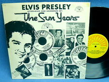 LP ELVIS PRESLEY - THE SUN YEARS // BELGIUM SUN RECORDS