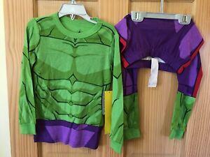 NWT Disney Store Hulk Costume PJ Pal Marvel's Avengers Boys Many sizes