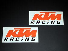 KTM Racing Aufkleber Sticker Racing Exc Cross Decal Bapperl Kleber Logo or25