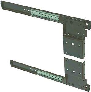 Accuride 1234 Pivot Sliding Doors Runners Cabinet Pocket Door Slide Steel Black