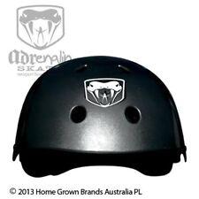 Adrenalin Skate Helmet Black 4 Skateboard Scooter Bike One Size