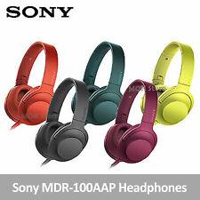 Sony h.ear on MDR-100AAP Headphones Hi-Res Audio Foldable