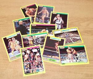 WWF - Summerslam 1992 Trading Cards - Complete Your Collection - 1-96