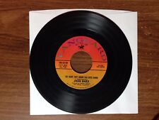 """1971 Joan Baez """"The Night They Drove Old Dixie Down/When Time Is Stolen"""" 45 Rpm"""