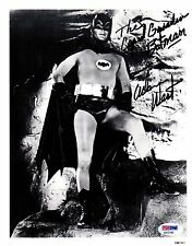 "PSA/DNA ""THE CAPED CRUSADER BATMAN"" ADAM WEST AUTOGRAPHED-SIGNED 8X10 PHOTO 2166"