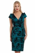 Rockabilly Patternless Regular Size Dresses for Women