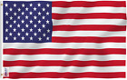 Anley Fly Breeze 3X5 Foot American US Flag - Vivid Color and UV Fade Resistant