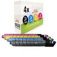 4x Toner für Ricoh Aficio MP C-3001 MP C-3501