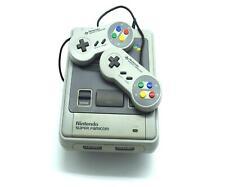 Nintendo SNES Super Famicom Japanese Console NTSC J + 2 Official Controllers