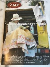Amy Butler On the Go Comfort Throw Sewing Pattern