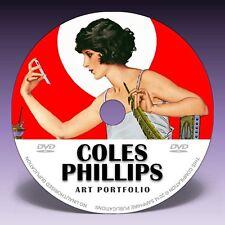 COLES PHILLIPS ART - Over 200 Illustrations on DVD! + Art Deco