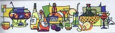 "Mulled Wine Cross Stitch Kit - Riolis (R911) - 25.5"" x 7.75"" (65cm x 20cm)"