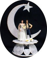 Star War Wedding Cake Topper Han Solo & Princess Leia Moonlight